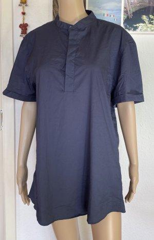 Zara Camicia a maniche corte blu scuro
