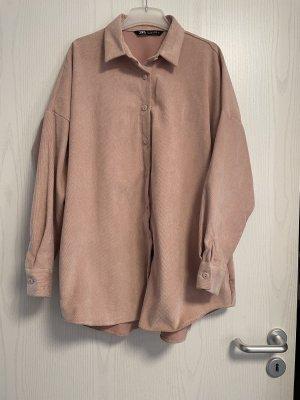 ZARA Hemd aus Kord