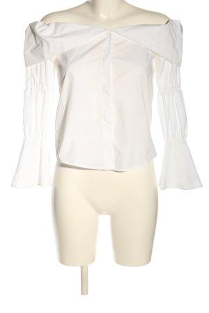 Zara Camicia blusa bianco stile professionale