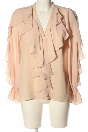Zara Hemd-Bluse creme Casual-Look