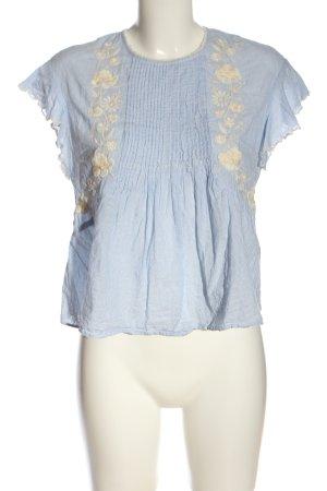 Zara Hemd-Bluse Streifenmuster Casual-Look