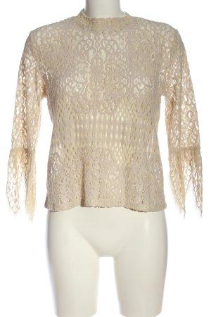 Zara Hemd-Bluse creme Elegant