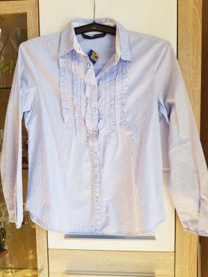 Zara Hemd-Bluse Gr L 100% Cotton