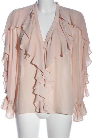 Zara Hemd-Bluse pink Casual-Look
