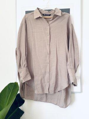 Zara Hemd Blusen Kleid