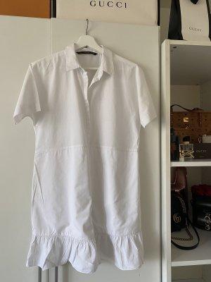 Zara Chemise à manches courtes blanc