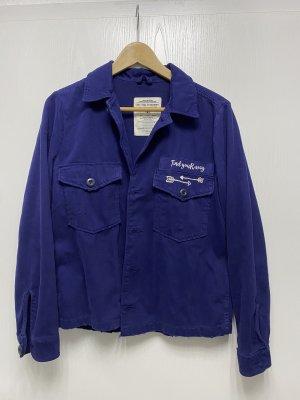 Zara Hemd oversized Jacke Statement Gr. M Used Look