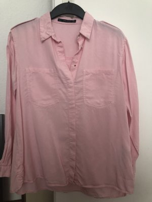 Zara Hemd rosa Gr S 36