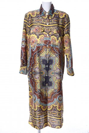 Zara Shirtwaist dress graphic pattern elegant