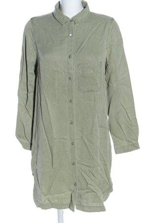 Zara Abito blusa camicia cachi stile casual