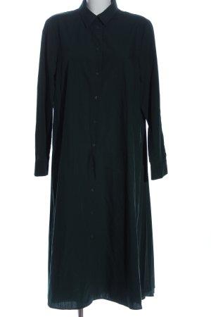 Zara Hemdblusenkleid schwarz Business-Look