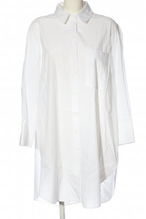 Zara Vestido tipo blusón blanco estilo «business»