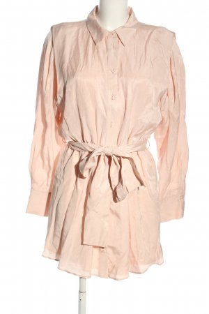 Zara Hemdblusenkleid pink Casual-Look