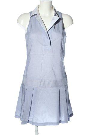 Zara Hemdblusenkleid blau Karomuster Casual-Look