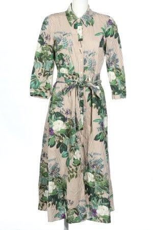 Zara Abito blusa camicia motivo floreale stile casual