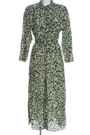 Zara Hemdblusenkleid abstraktes Muster Casual-Look