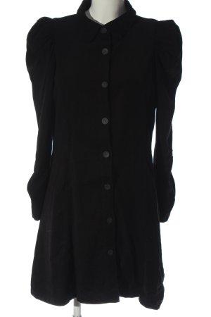 Zara Robe chemise noir style décontracté