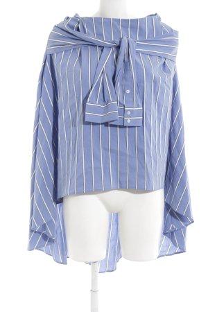 Zara Hemdblusenkleid Streifenmuster Street-Fashion-Look
