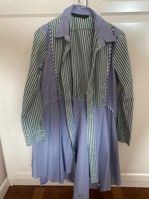 Zara Oversized Blouse blue-green