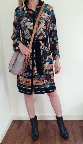 Zara Koszulowa sukienka Wielokolorowy