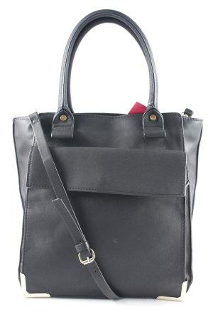 Zara Henkeltasche schwarz Elegant