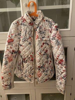 Zara Herbstjacke mit Flowerprint zu verkaufen