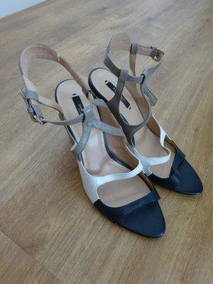 Zara High Heel echt Leder Sandalette 41 1x getragen Zustand TOP