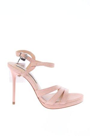 Zara High Heel Sandaletten pink Casual-Look