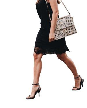 Zara High Heel Sandaletten anthrazit Elegant
