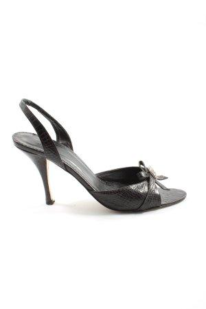 Zara Sandaletto con tacco alto nero elegante
