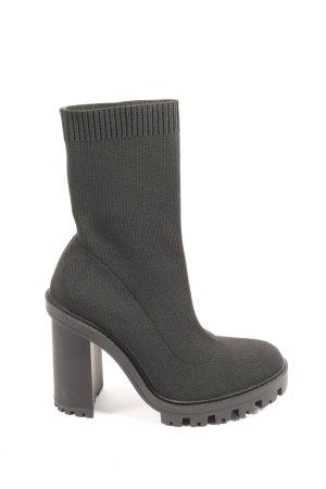 Zara Laarzen met hoge hakken zwart casual uitstraling