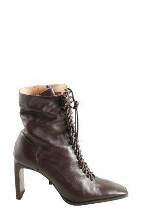 Zara High Heel Boots brown elegant