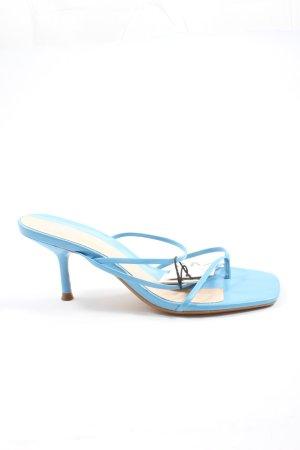 Zara High Heels blau Casual-Look