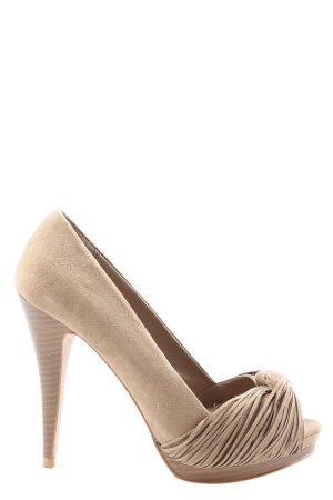 Zara High Heels creme Casual-Look