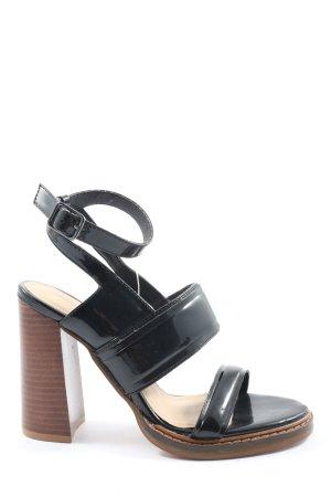 Zara Talons hauts noir style décontracté