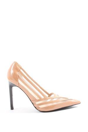 Zara High Heels nude Business-Look