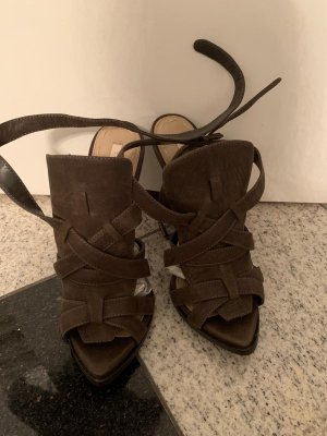 Zara High Heel Sandal taupe