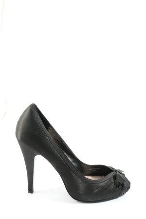 Zara High Heels schwarz Business-Look
