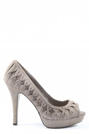 Zara High Heels hellgrau Elegant