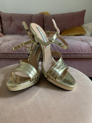 ZARA High Heels Gold