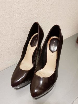 Zara High Heels Gr 37 bordeaux