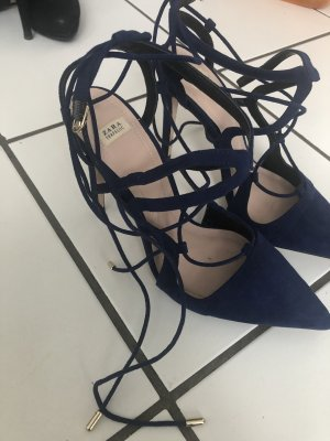 Zara high heels grösse 40, blau