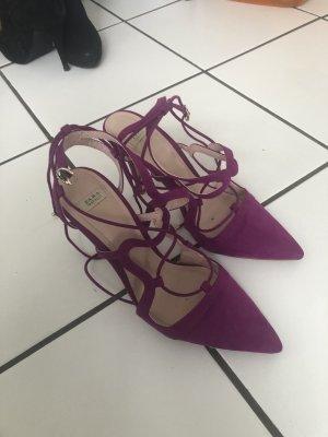 Zara high heels grösse 40, lila