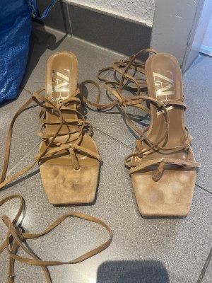 Zara High Heels Sandaletten Sandalen  Gr 40