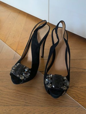 Zara high heels schwarz