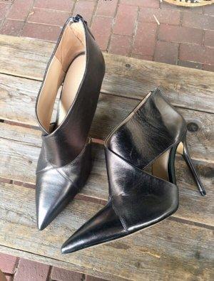 Zara high heels silber