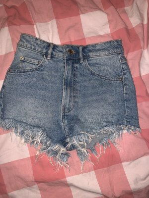 Zara High-Rise Jeansshorts