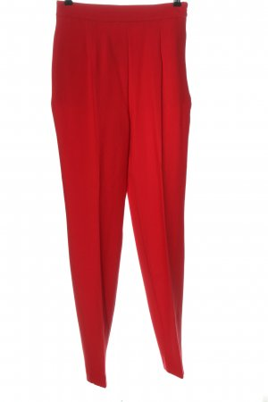 Zara High-Waist Hose rot Casual-Look