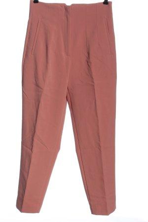 Zara High-Waist Hose pink Business-Look