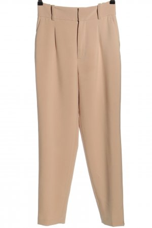 Zara High-Waist Hose creme Casual-Look